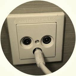 Kabel richtig angeschlossen an der TV-Dose und dennoch kein TV-Empfang