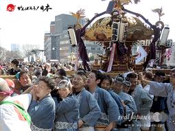 建国祭・奉祝神輿パレード(2015.02.11)