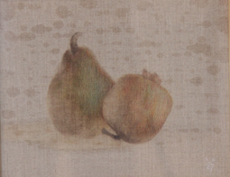 &ギャラリー展示・赤木範陸「二つの古風な果物の静物」1994
