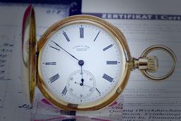 Uhr Taschenuhr Golduhr
