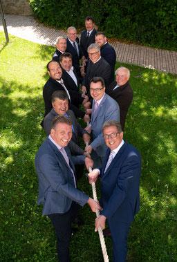 Die Bürgermeister der Allianz A7 Franken West ziehen allen an einem Strang