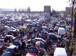 Flohmarkt in Prag - Bleší trhy
