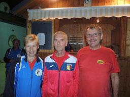5. Platz: ESK Langenlebarn 1 mit Feichtlbauer Fritz und Weikmann Franz