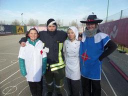 8.Platz Ananas mit Stark M., Kedl, Palecek N., Fibi S.