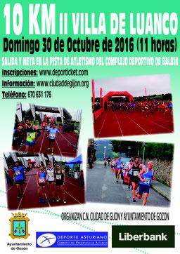 II 10 KM. VILLA DE LUANCO  - Luanco, 30-10-2016