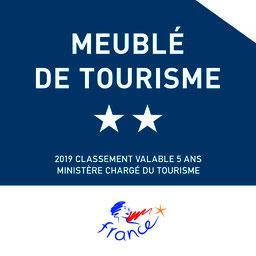 Classement Meublé de Tourisme 2 étoiles