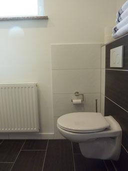 Gästehaus Erle Apartment Grünten Bad Ansicht WC