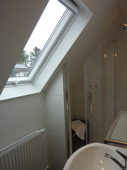 Gästehaus Erle Apartment Fellhorn Bad Fenster Ansicht