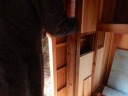 築90余年 古民家再生 縁側の雨戸 戸繰り窓