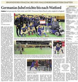 Artikel aus der Ostfriesen-Zeitung