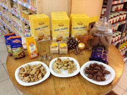glutenfreie Bio-Kekse und wie die Verfeinerungen aussehen können