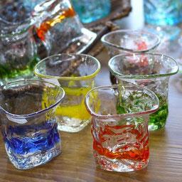 器と珈琲 Lien りあん のギャラリー: 琉球ガラスへ