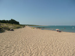 Ile d'Oléron, La plage de Boyardville