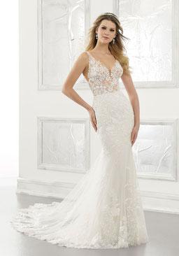 Schmale Brautkleider
