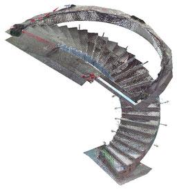 Vaduz, Weisser Würfel - 3D-Scan