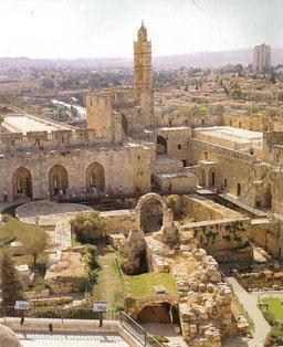 旧エルサレム市街のダビデの塔