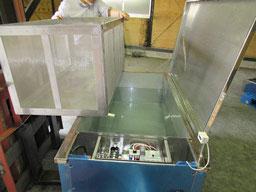 ロストル洗浄 漬け置き洗浄機