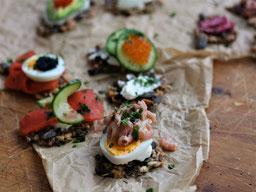 Einfach! Küche! schwedisches Knäckebrot - ein Kurztrip nach Schweden
