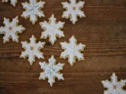 Einfach! Küche! Adventskalender 2018 - Türchen Nr.13 - Schneeflockenkekse mit Royal Icing