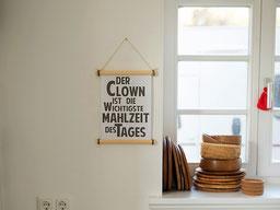 Einfach! Küche! der Clown in unserer Küche