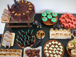 Einfach! Küche! sweet table zum Geburtstag *Hüa!*