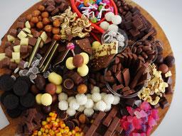 Einfach! Küche! scatter plate - Schokolade satt zum 18. Geburtstag