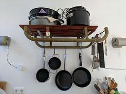 Einfach! Küche! ein Schlitten in der Küche