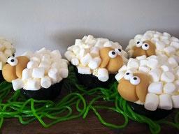 Einfach! Küche! Schaf Cupcakes