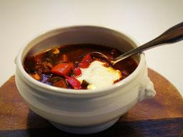 Einfach! Küche! Eine Suppenschale Soljanka