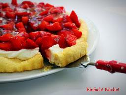 Einfach! Küche! Erdbeer Tarte