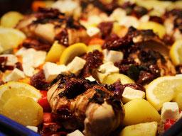 Einfach! Küche! griechische Kartoffeln aus dem Ofen