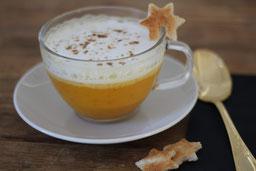 Einfach! Küche! Adventskalender 2018 - Türchen Nr.12 - Kürbis Cappuccino