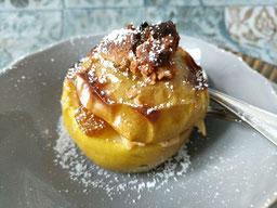 Einfach!  Küche! Türchen Nr.15 - Bratäpfel mit Marzipan & Amaretto