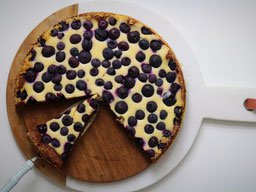 Einfach! Küche! Blueberry Brownie Cheesecake