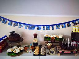 Einfach! Küche! sweet table zum Geburtstag *Drachen zähmen leicht gemacht*