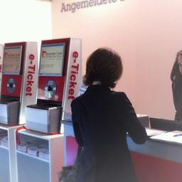 Veranstaltungssysteme Messesysteme Kongresse e-Ticket Besucherregistrierung