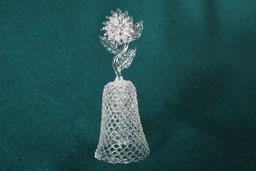 Glasglöckchen small decorative glass bell