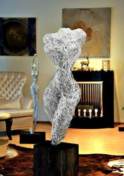 Drahtskulptur Venus