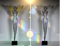 Drahtskulptur Engel 130-1