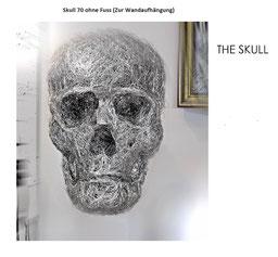 Skull for wall