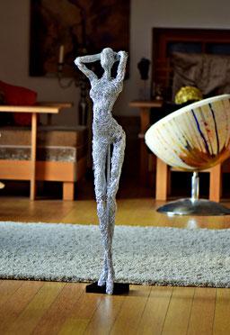 Drahtskulptur JULIA Erotic
