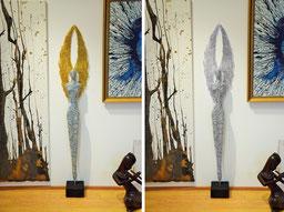 Drahtskulptur Engel 130-4
