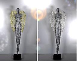 Drahtskulptur Engel 130-2