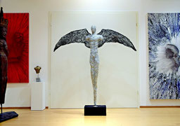 Ares männliche Drahtskulptur
