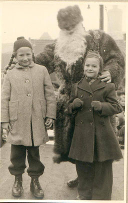 6. 12. 1953 mit Nikolaus (Alfred Hirte)