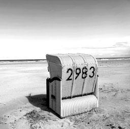 """""""alte"""" Postleitzahl mit eigenem Strandkorb....."""