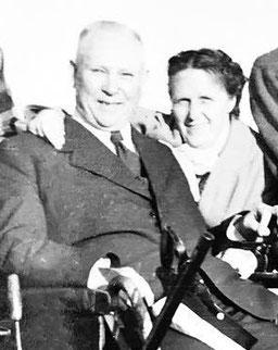 Eggbert und Gertrude (Tula) Jonxis ca. 1953