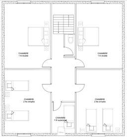 Gîte de la Marcanteraine, 2ème étage