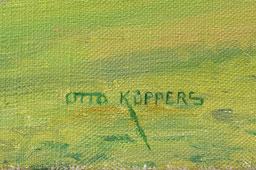Otto Küppers Eifelmaler Landschaft Signatur