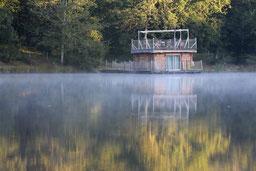 cabane sur l eau
